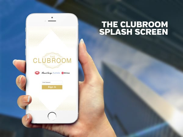The Clubroom Splash Screen | PopUp WiFi - Temporary Event WiFi