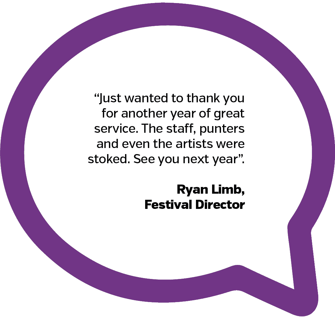 Festival Director Testimonial | PopUp WiFi - Temporary Event WiFi