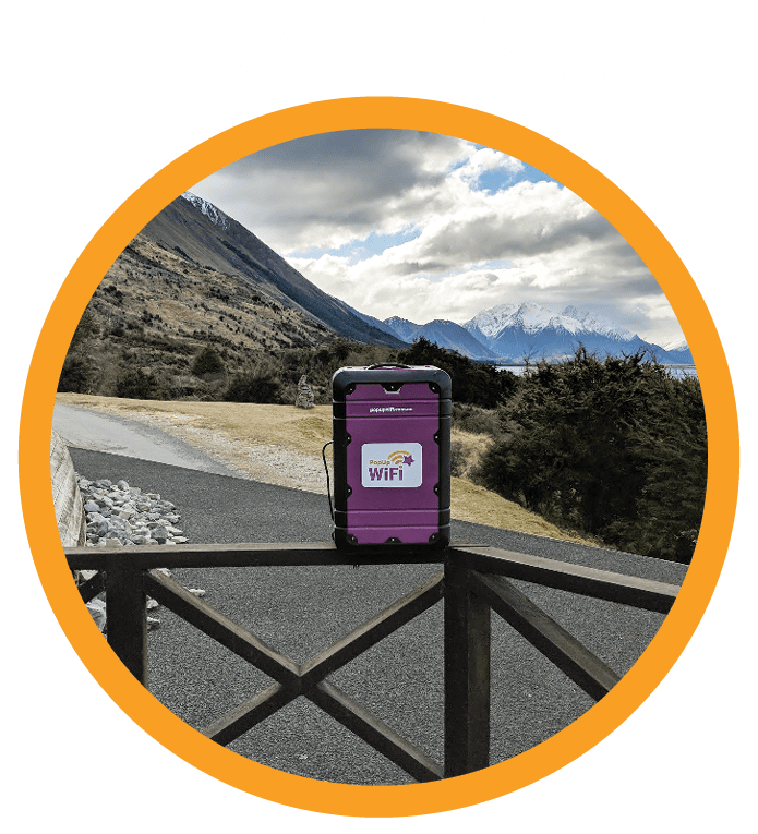 Countries PopUp WiFi Services - New Zealand