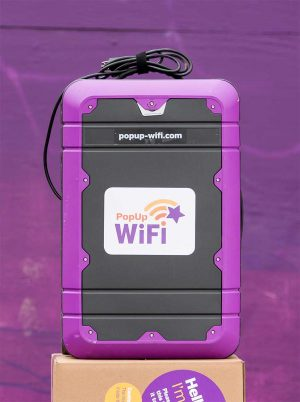 PopUp WiFi - USA I Temporary WiFi for Events & Conferences